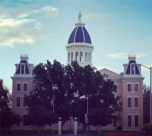 Presidio County Courthouse in Marfa, Texas