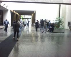 Preparing for a press conference