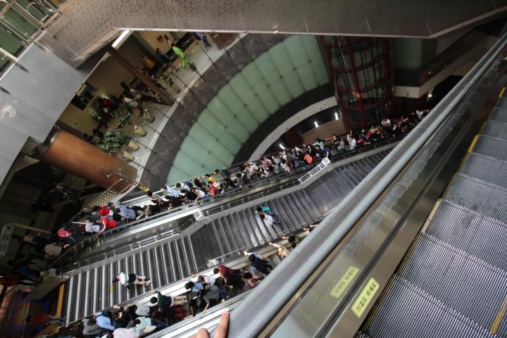 Deep Crowded Metro