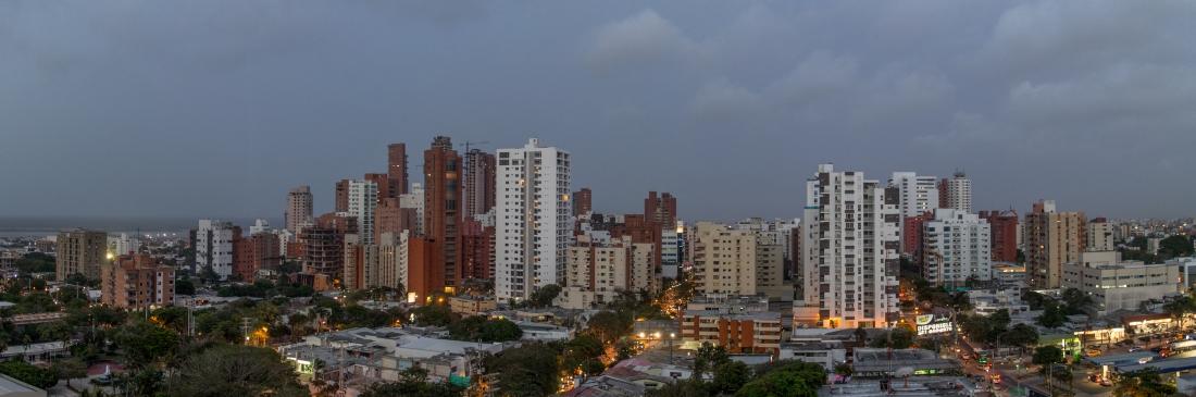 Barranquilla Skyline