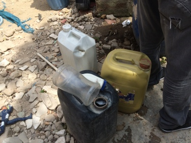 More uncovered standing water containers