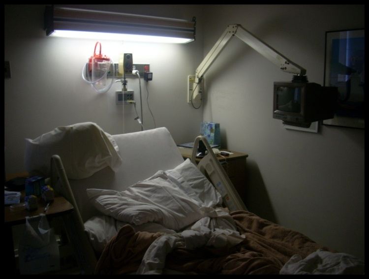 """Hospital Bed"" by Dan Cox via Flickr (cc by nd 2.0)"