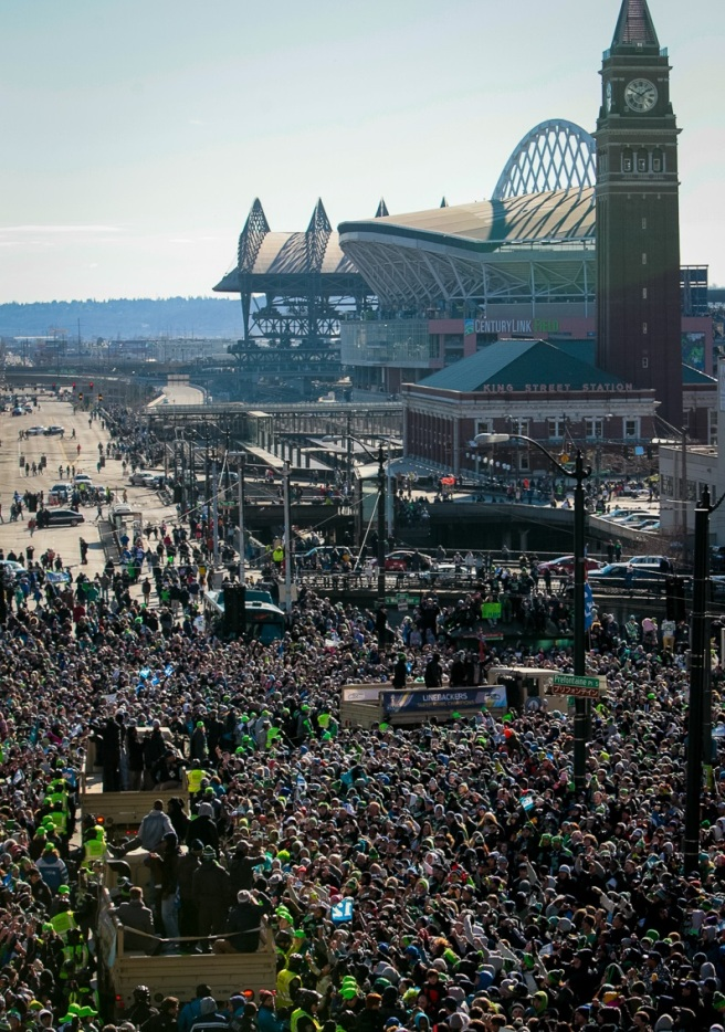 Super Bowl Parade, via Dave Sizer on Flickr, CC by 2.0