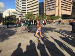 Leading Woman Runner
