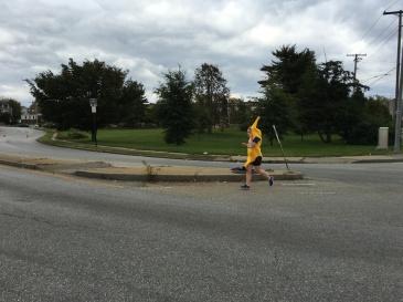 Running Banana